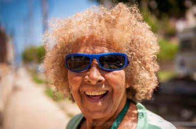 Ein Lächeln in Mirarmar, Havanna, 26. Mai 2009.