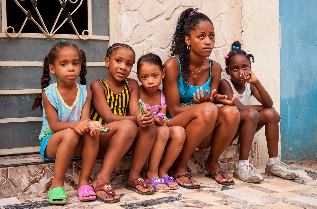 Girlgroup in Havanna