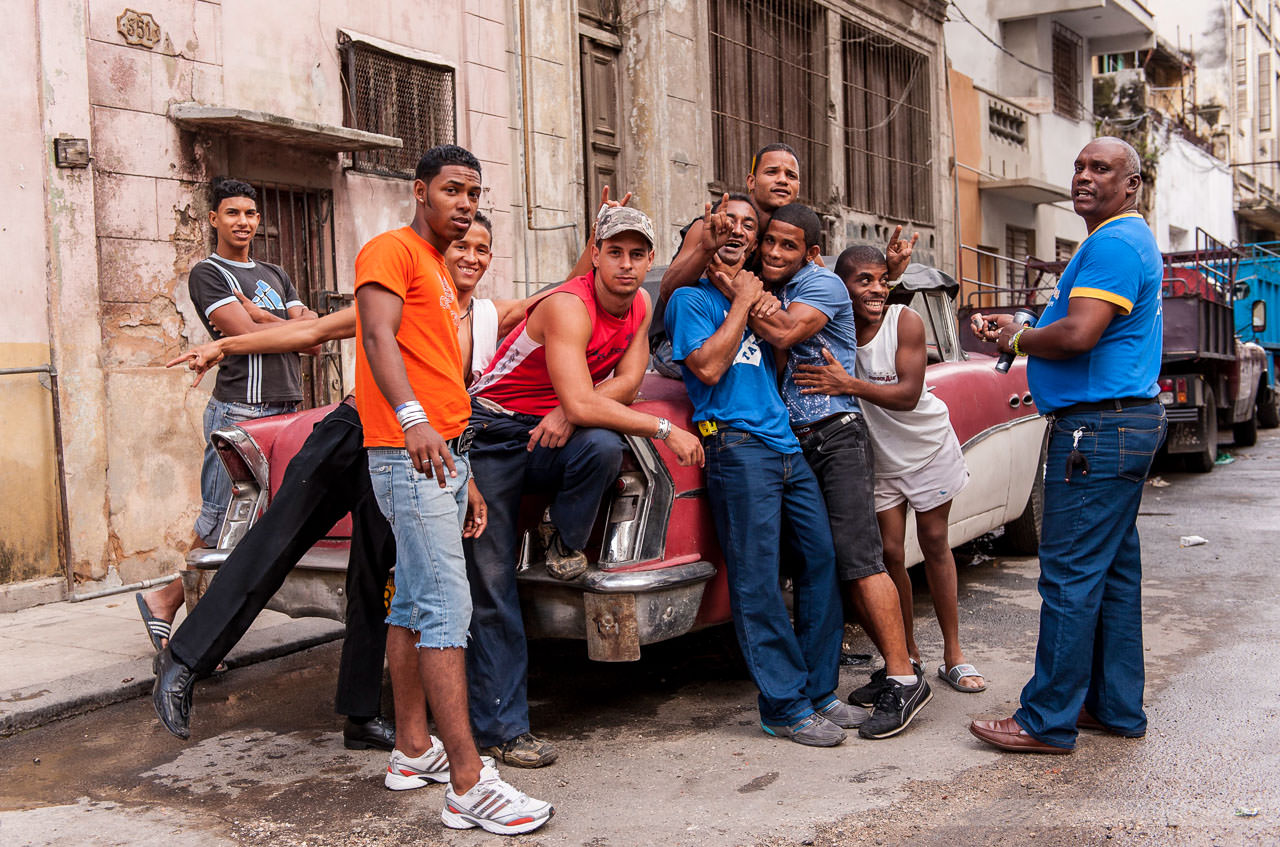 In der Altstadt von Havanna, Kuba, Mai 2009