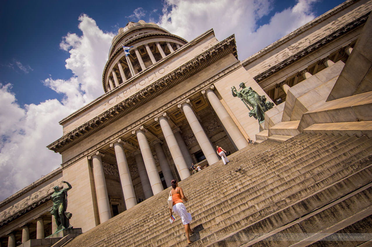 Capitolio de Havanna, Kuba, Mai 2008