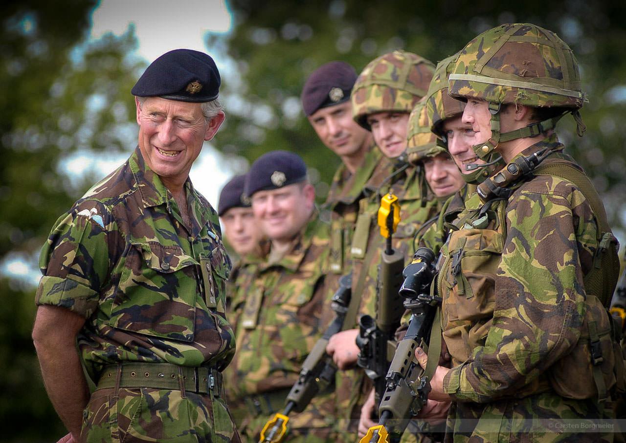 Charles Mountbatten-Windsor, Prince of Wales, Sennelager, September 2004