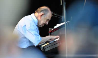 Pianist und Bandleader Paul Kuhn, Rietberg, Juli 2008