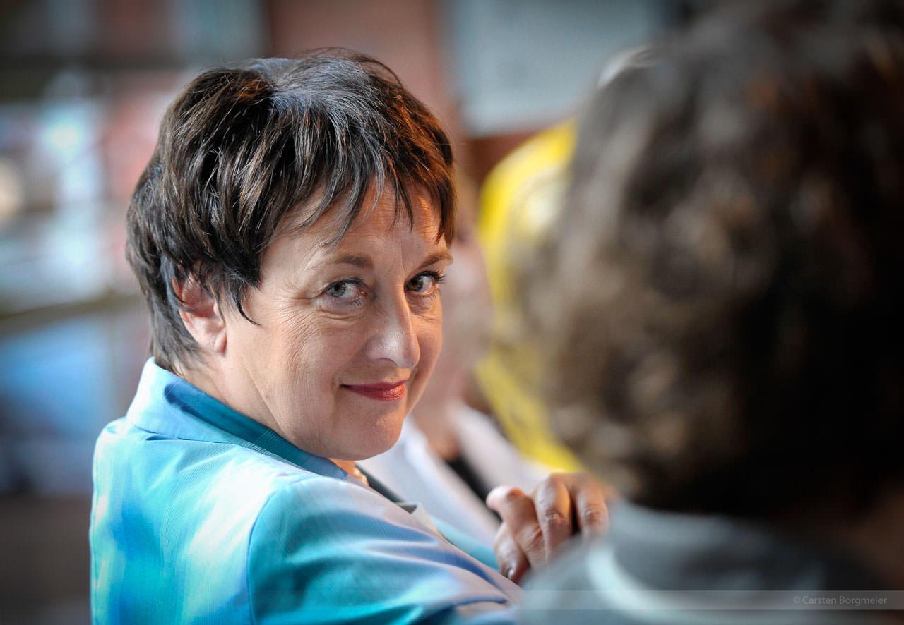 SPD-Bundespolitikerin Brigitte Zypries, Gutersloh, August 2009