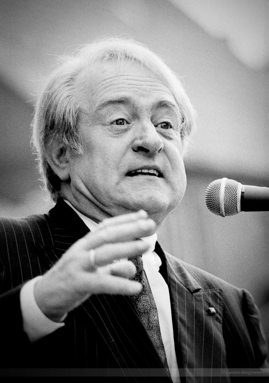 Ex-Bundesprasident Johannes Rau (gestorben 2006), Kleinenberg, 1990