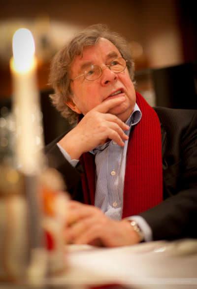 Literaturkritiker Hellmuth Karasek, Rietberg, Dezember 2009