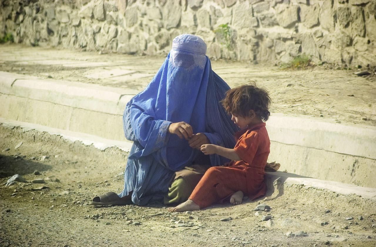 Kabul, Afghanistan, Juli 2004