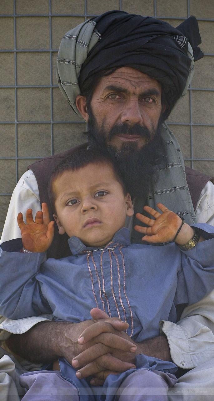 Camp Warehouse, Afghanistan, Juli 2004