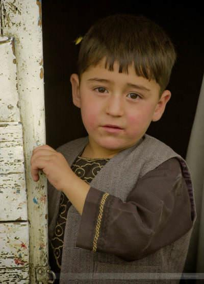 Butcher street of Kabul, Afghanistan, July 2004