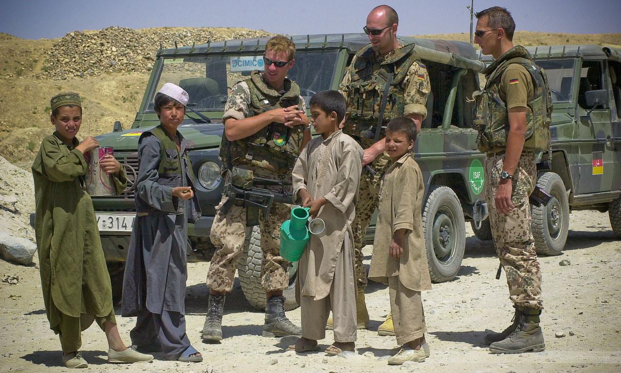Bei Butkhak an der Jalalabad-Road, Afghanistan, Juli 2004
