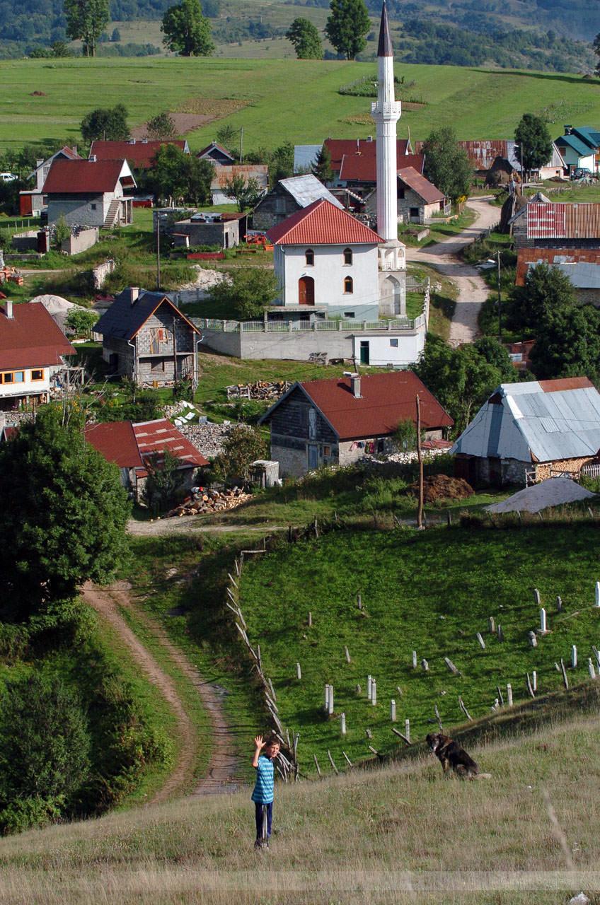 Gruss aus Trnovo, Bosnien, September 2005