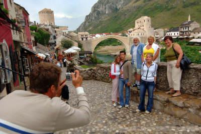 Brücke von Mostar, Herzegowina, September 2005