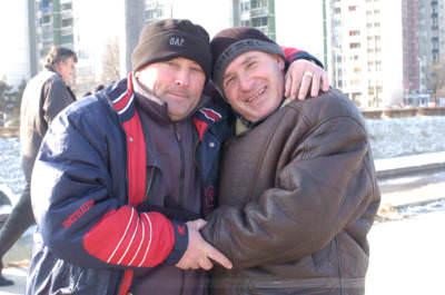 Sarajevo-Dobrinja, Bosnien-Herzegowina, Februar 2006