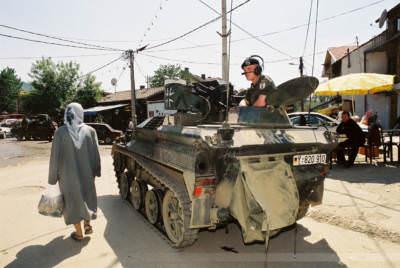 Prizren, Kosovo, Mai 2000
