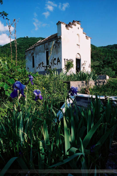 Nahe Prizren, Kosovo, Mai 2000