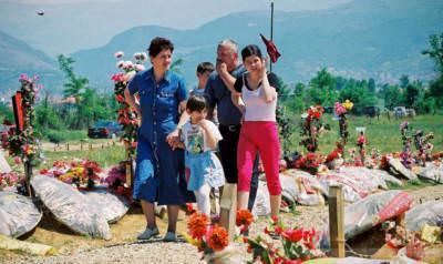 Orahovac, Kosovo, Mai 2000